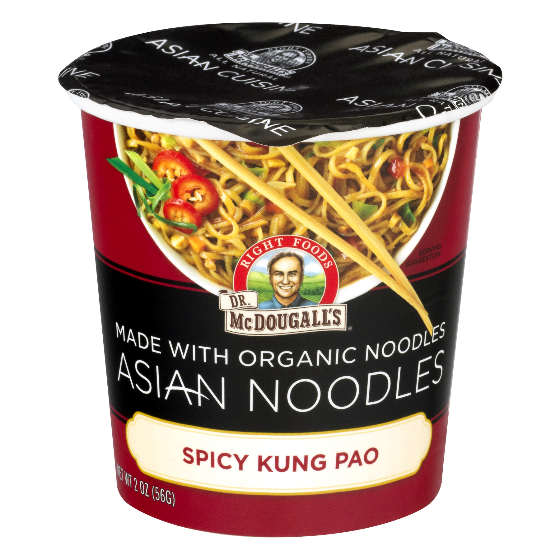Dr. McDougall's Organic Asian Noodles Spicy Kung Pao, 2.0 OZ