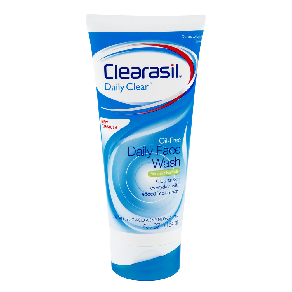 Clearasil Daily Clear Oil-Free Daily Face Wash, 6.5 OZ