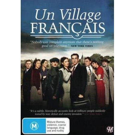 A French Village (Vol.1 - Ep. 1-12) - 4-DVD Set ( Un village fran ais ) ( A French Village - Volume One ) [ NON-USA FORMAT, PAL, Reg.4 Import - Australia ]