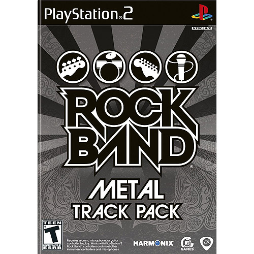 Rock Band Metal Track Pack (PS2)