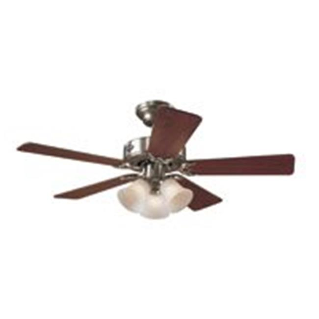 Hunter Fan 51011 Brushed Nickel Ceiling Fan 42 In