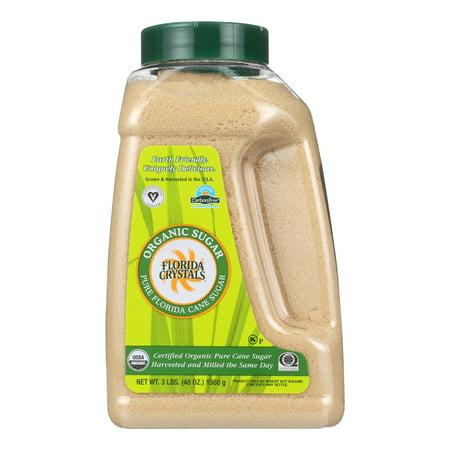 (2 Pack) Florida Crystal's Organic Cane Sugar, 3 Lb