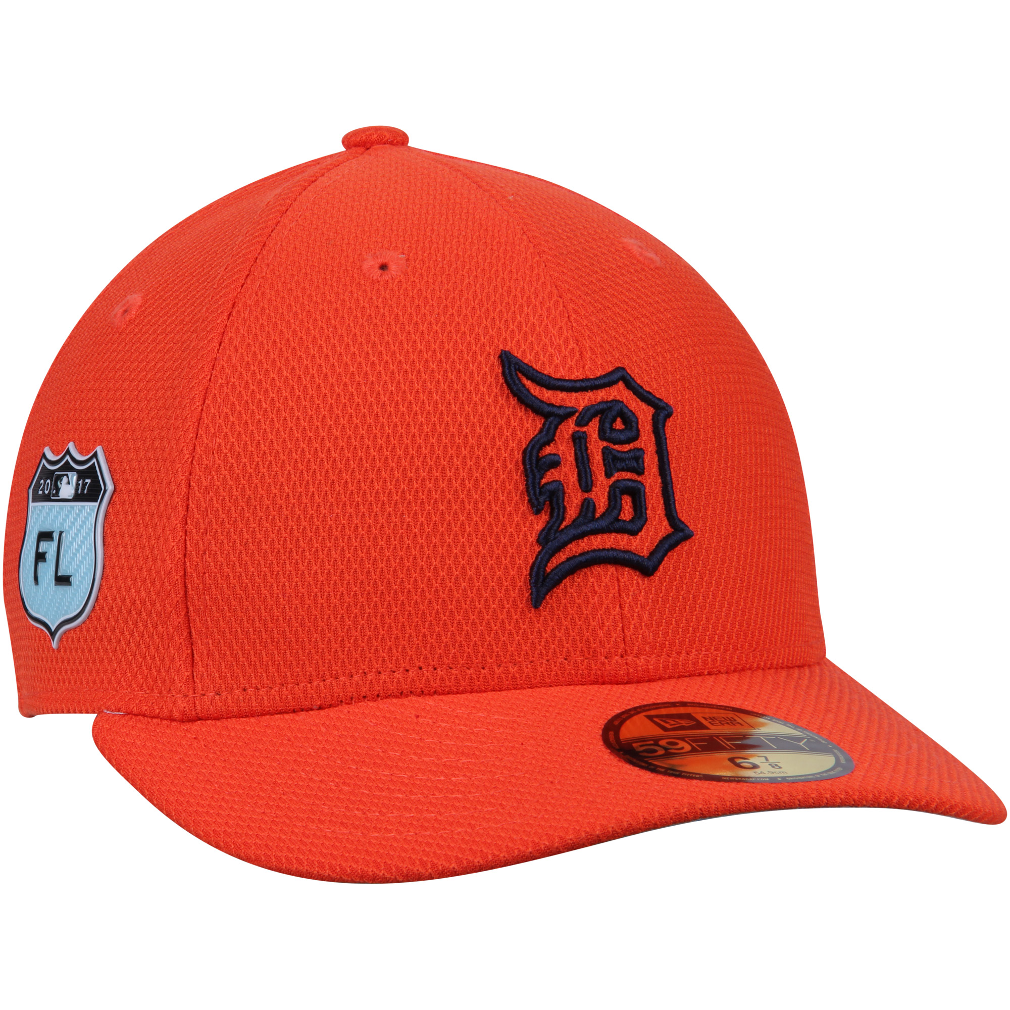 Detroit Tigers New Era 2017 Spring Training Diamond Era Low Profile 59FIFTY Fitted Hat - Orange