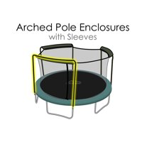 Replacement Trampoline Safety Net | For 15 ft frames w/ 3 Arch Enclosures(Compatible with Bounce Pro / Sports Power)
