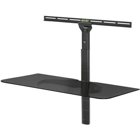 Level Mount by Elexa ELGS Glass Shelf for TV Wall Mount