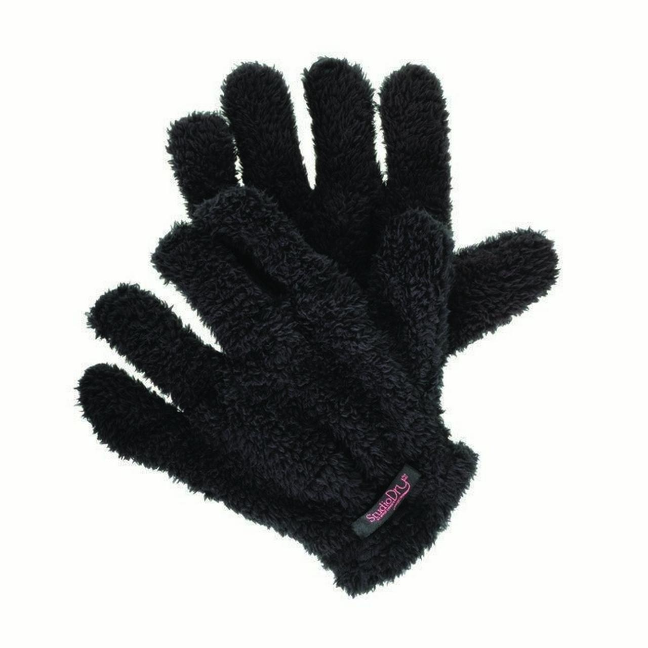 Upper Canada Soap Hair Drying Gloves, Black