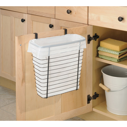 interDesign  Axis Over the Counter Waste Storage Basket