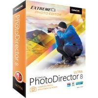 Cyberlink PhotoDirector v.8.0 Ultra - Image Editing - Box - PC, Mac