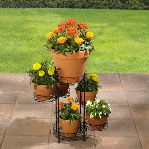 better homes and gardens 6tier iron wire plant stand