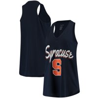 Syracuse Orange Women's At Ease V-Neck Tank Top - Navy