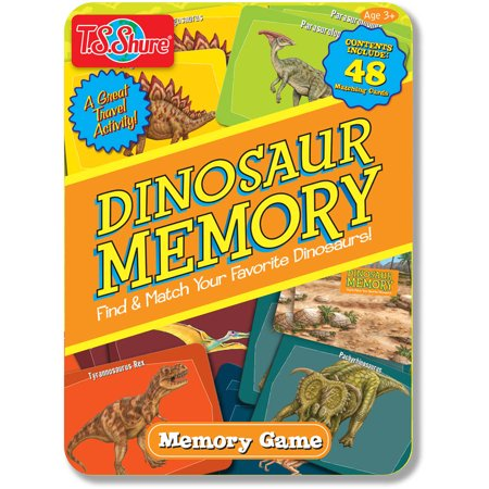 T.S. Shure Dinosaur Memory Game Tin