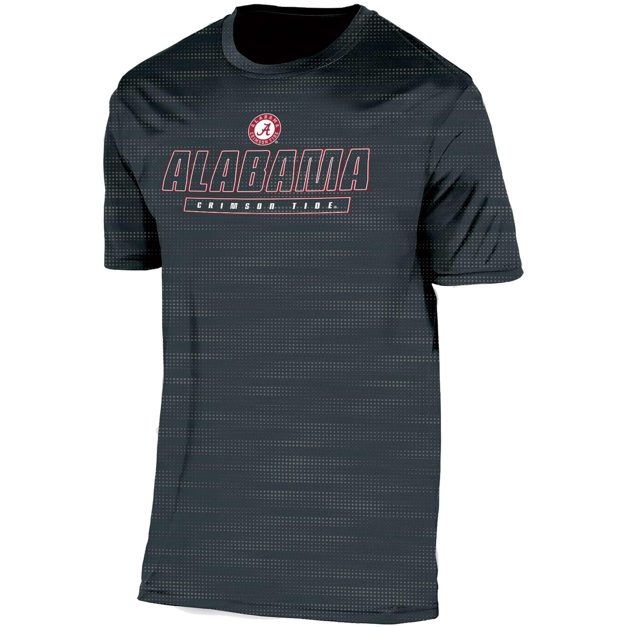 Men's Russell Black Alabama Crimson Tide Embossed Synthetic T-Shirt