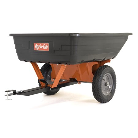 Agri-Fab, Inc. 10' Cubic Tow-Behind Poly Lawn and Garden Cart - Model #