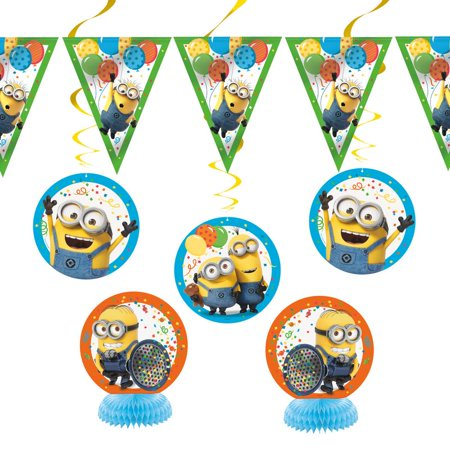 Minion Decoration Ideas (Despicable Me Minions Party Decorating Kit,)