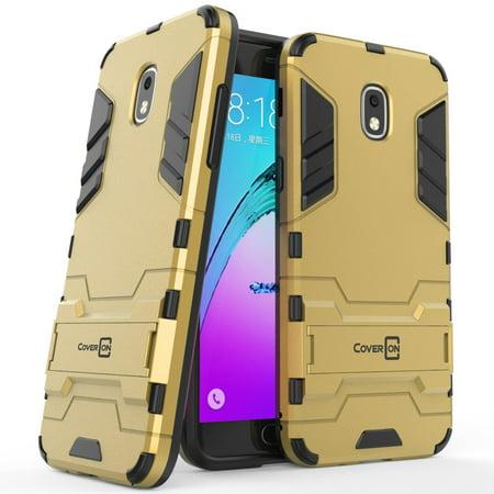 (CoverON Samsung Galaxy J3 (2018) / Galaxy Express Prime 3 / Galaxy J3 Prime 2 / Galaxy Amp Prime 3 / Galaxy Eclipse 2 / J3 Aura / Galaxy Achieve / J3 Star Case, Shadow Armor Series Hybrid Phone Cover)