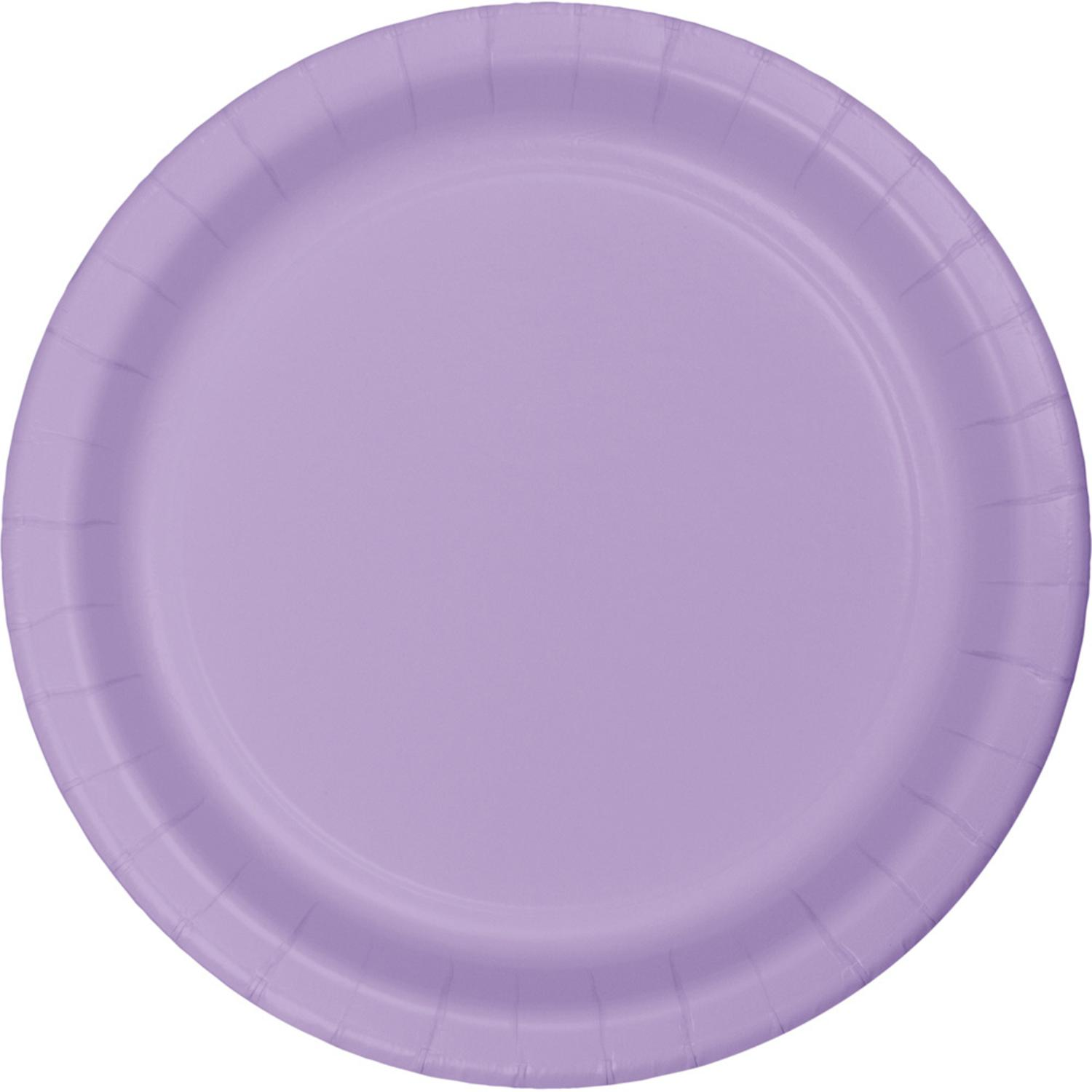 """Club Pack of 240 Luscious Lavender Disposable Paper Party Luncheon Plates 7"""""""
