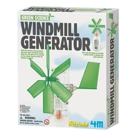 4M Green Science Windmill Generator Kit