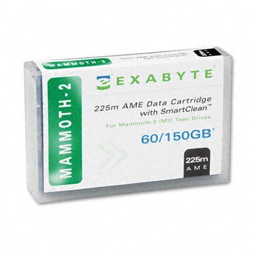Tandberg Data SmartClean Mammoth-2 225m AME Tape Cartridge - Mammoth Mammoth-2 - 60GB (Native) / 120GB  - Exabyte 00558