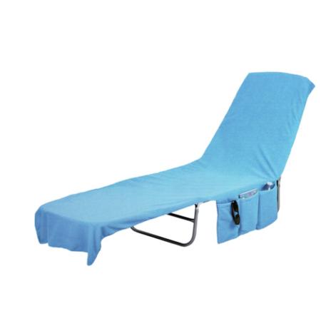 3f023ca696d1 Beach Lounge Chair Cover Towel Tote Bag - Blue - Walmart.com