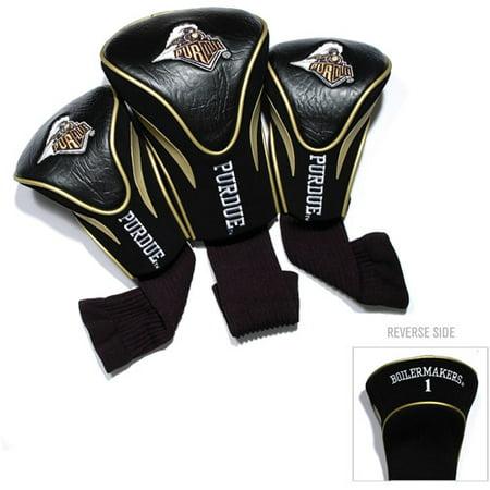 - Team Golf NCAA Purdue 3 Pack Contour Head Covers
