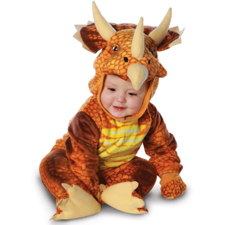 Triceratops Costume For Kids (Triceratops - Rust Toddler Halloween)