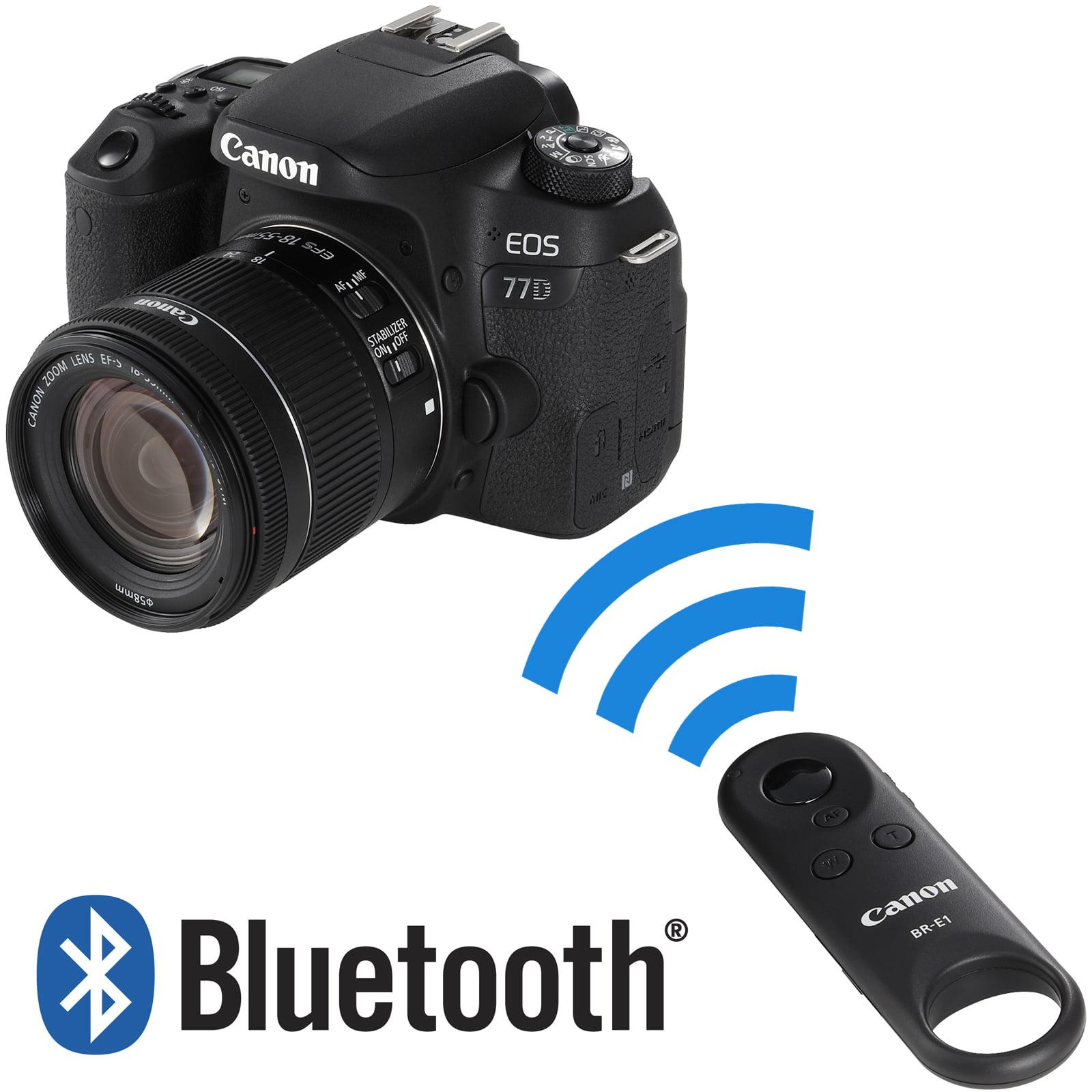 Canon BR-E1 Wireless Bluetooth Remote Control for Rebel T7i & EOS 77D  Cameras