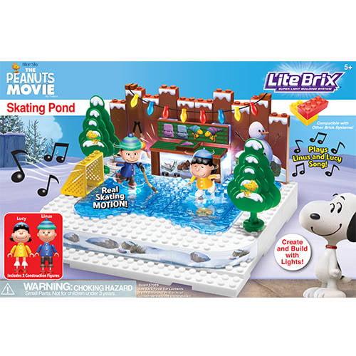 Lego Cra-Z-Art Lite Brix The Peanuts Movie Skating Pond C...