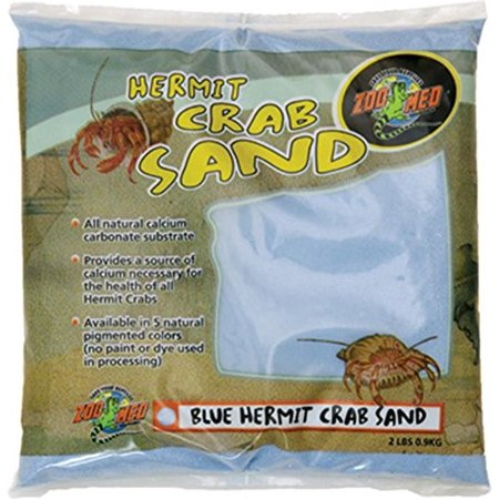 2 Lb Hermit Crab - Zoo Med Hermit Crab Sand, 2 Lb, Blue