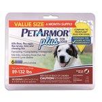 PetArmor Plus for Dogs 89-132 lb, 6 ct + Pulgas y garrapatas de perro en VeoyCompro.net