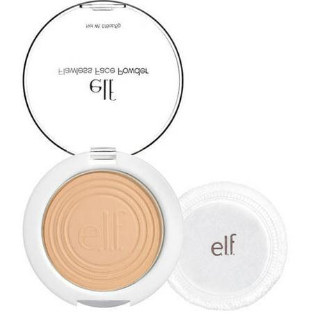 E L F  Flawless Face Powder  Light Beige  0 18 Oz