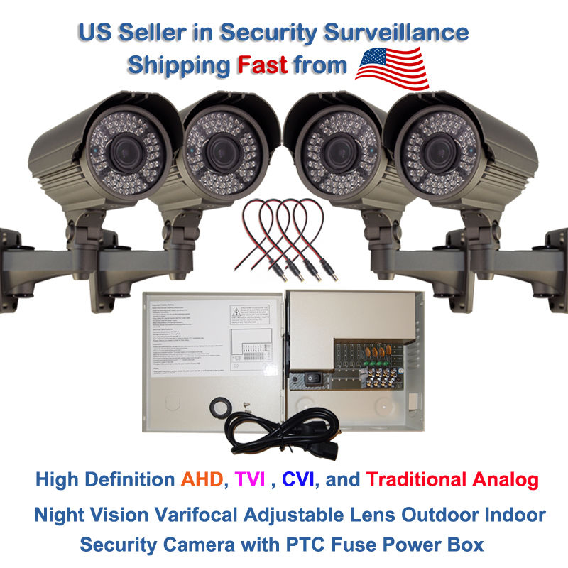 Evertech 1080P 2.1MP HD Day Night Vision Outdoor Indoor Bullet CCTV Security