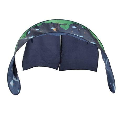 Dream Tent Space Adventure Kids P op Up Play Tent Playhouse Folding Bed ()