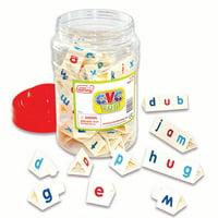 CVC Tri-Blocks Tub Word Building Set