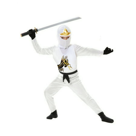 Child White Ninja Avengers Series 2 Costume