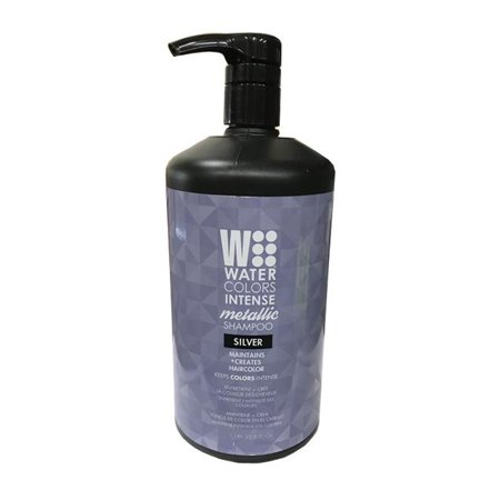 Tressa Watercolors Intense Shampoo-silver 33.8 Oz