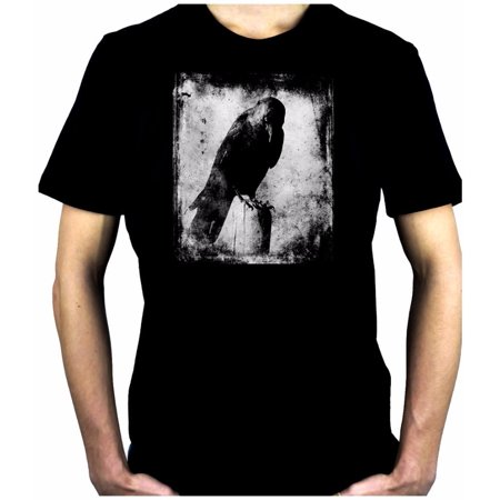 Evil Eye Raven Men's T-Shirt Alternative Clothing Black Crow Gothic Deathrock