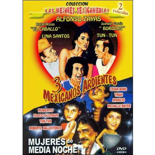 3 Mexicanos Ardientes / Mujeres De Media Noche (Spanish)
