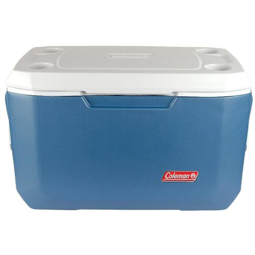 Coleman 70 Quart Xtreme 5 Cooler Blue Rustproof, Leak-Resistant Channel w/ No-Crush Comfort Handles