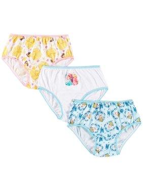 Disney Princess Girls 3-pk. Brief Panties