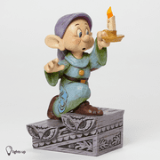 Jim Shore Disney 4043642 Dopey with Light Up Candle New 2014