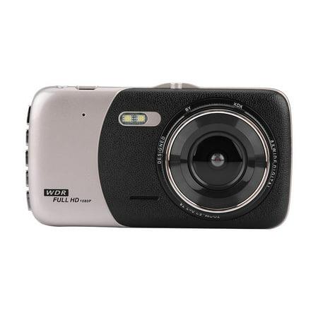 LHCER 4Inch HD 1080P Car DVR Driving Video Recorder Dual Lens Dash Camera Night Vision, Car Dash Camera, HD Car DVR - image 9 of 13