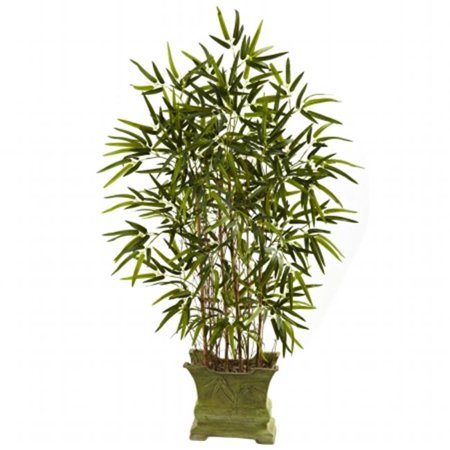 45 in. Bamboo Tree With Decorative Planter