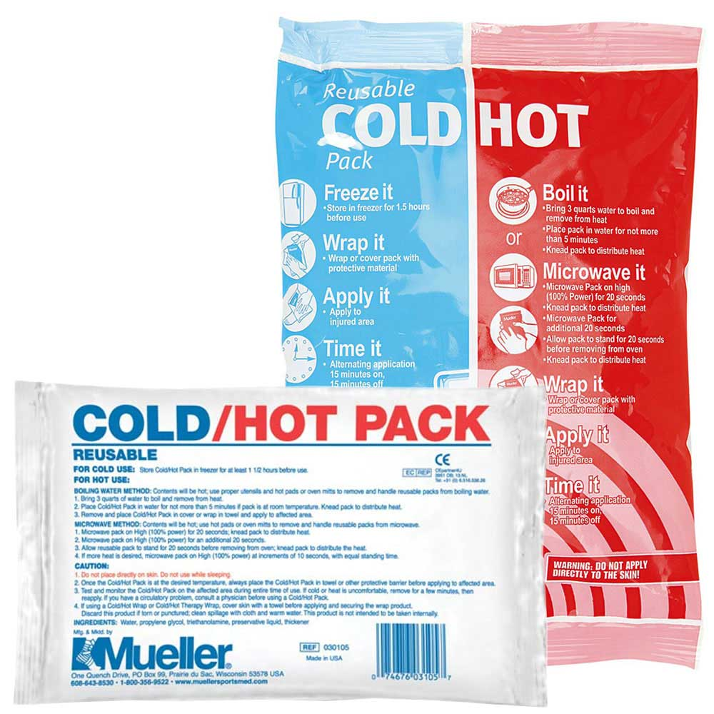 "Mueller Reusable Cold/Hot Pack-4.7"" x 6"""