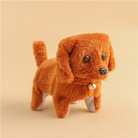 BEAD BEE Music Light Cute Robotic Electronic Walking Pet Dog Puppy Kids Toy - Dog Zable Bead