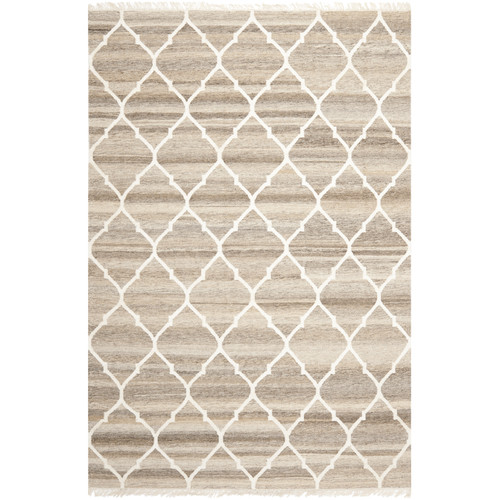 Safavieh Natural Kilim Dhurrie Light Grey & Ivory Area Rug