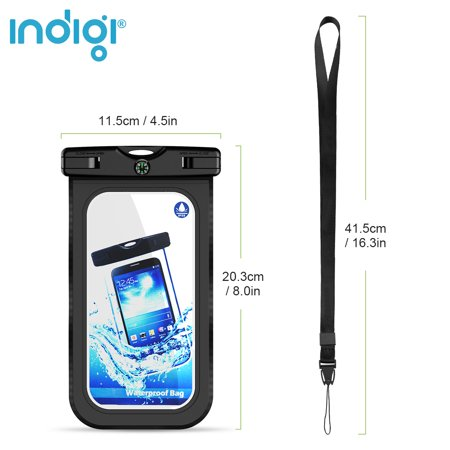 Beach Vacation Must Have! - Sand/Waterproof Case for Phones [Keep valuables & SmartPhone Safe Dry] - image 4 of 4