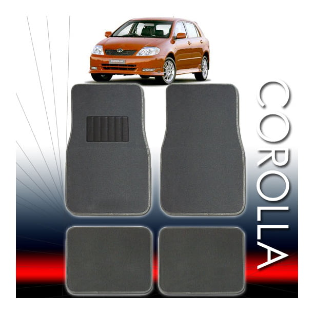 2001 2002 2003 2004 2005 Car Toyota Corolla Floor Mats Set All Fees Included Walmart Com Walmart Com