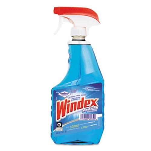 WINDEX Glass Cleaner, 32 oz, Blue