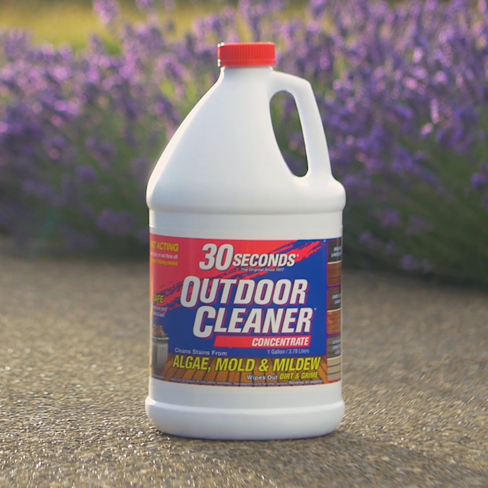 30 Seconds Outdoor Cleaner For Stains