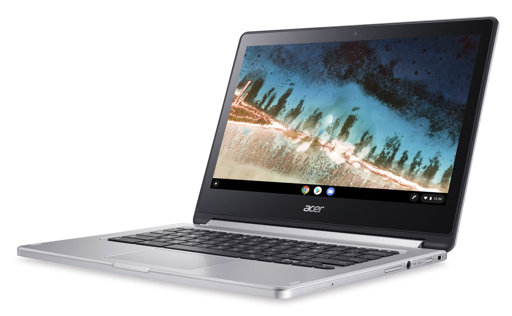 "Acer R13 Mediatek 2-in-1 Touch 4GB/64GB Chromebook, 13.3"" FHD ..."